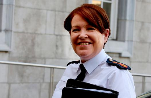 Garda Commissioner Noirin O'Sullivan . Photo: Tom Burke
