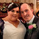 Bernadette and Thomas Power on their wedding day in September last year