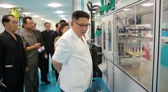The North Korean leader Kim Jong-un. Photo: Reuters