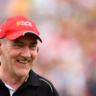 Tyrone manager Mickey Harte after the Ulster GAA Football Senior Championship Semi-Final match between Tyrone and Donegal at St Tiernach's Park in Clones