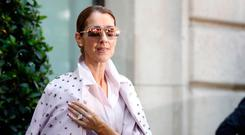 Celine Dion out and about in Paris, France, on June 21, 2017. (Photo by Mehdi Taamallah/NurPhoto via Getty Images)