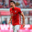 There has been some suggestion of problems between Lewandowski and Bayern. Photo: Getty Images