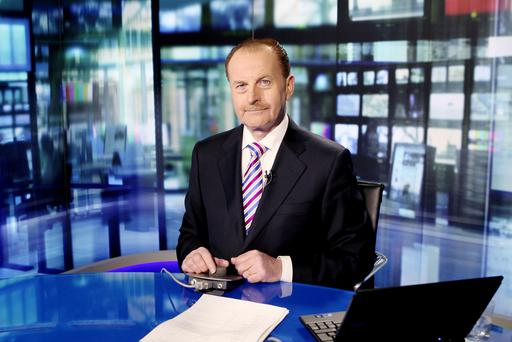 John Finnerty has stepped down from the newsroom at RTÉ