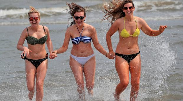 Wednesday was officially the hottest day of the year as temperatures reach 28.6C