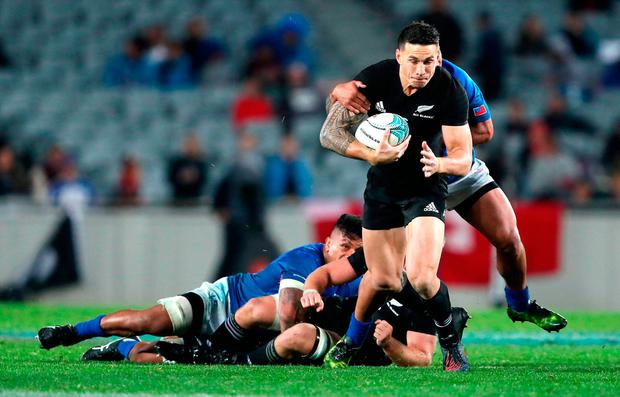 Sonny Bill Williams. Photo credit: David Davies/PA Wire.