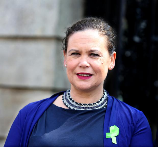 Sinn Féin's Mary Lou McDonald. Photo: Tom Burke