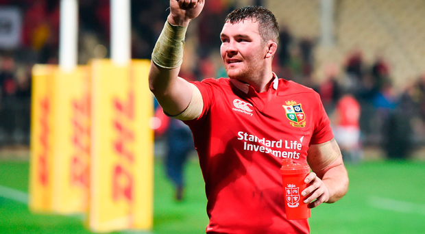 Peter O'Mahony, who will captain the Lions on Saturday. Photo: Sportsfile