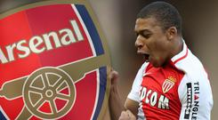 Could Mbappe be on his way to Arsenal? Getty