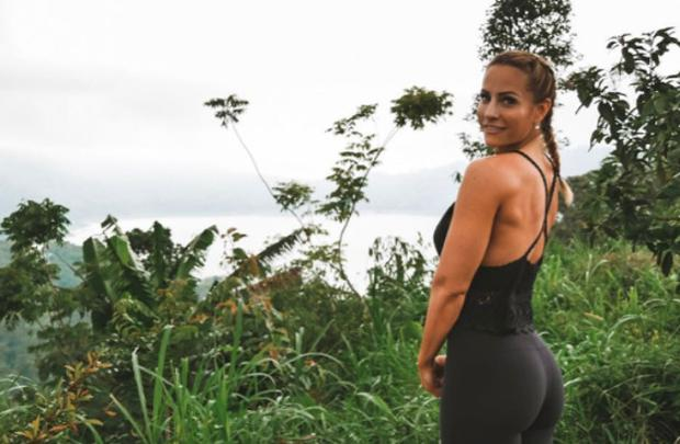 Popular fitness blogger Rebecca Burger died in a freak domestic accident. Photo: Instagram