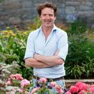 Diarmuid Gavin at the garden he designed in Dundrum Town Centre. Photograph: ©Fran Veale