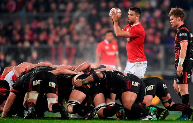 Conor Murray will be crucial to the Lions hopes of victory at Eden Park. Photo: Stephen McCarthy/Sportsfile