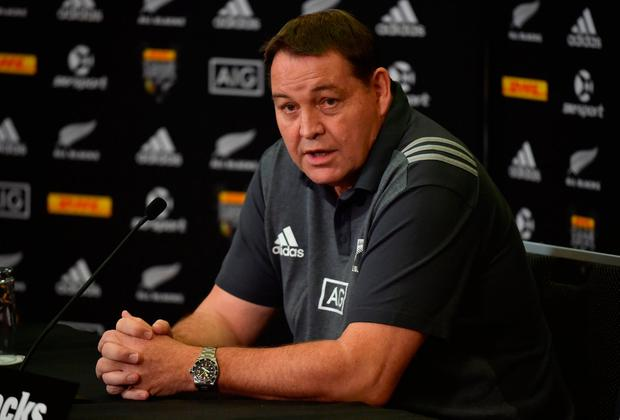 New Zealand All Blacks rugby coach Steve Hansen. Photo: AFP/Getty