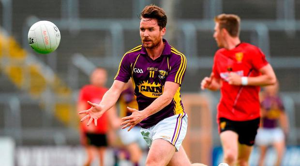 Ben Brosnan is hoping Wexford can get back on track against Limerick. Photo: Matt Browne / Sportsfile