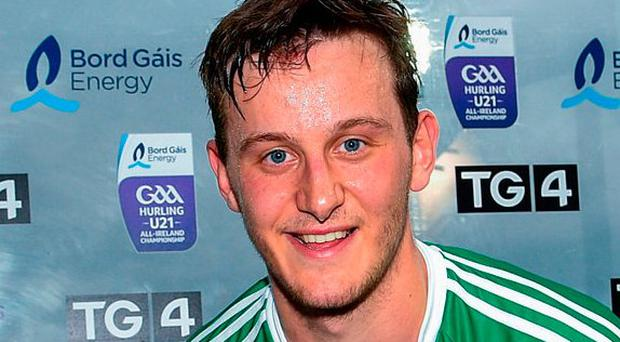 Man of the match Tom Morrissey. Photo: Ramsey Cardy/Sportsfile