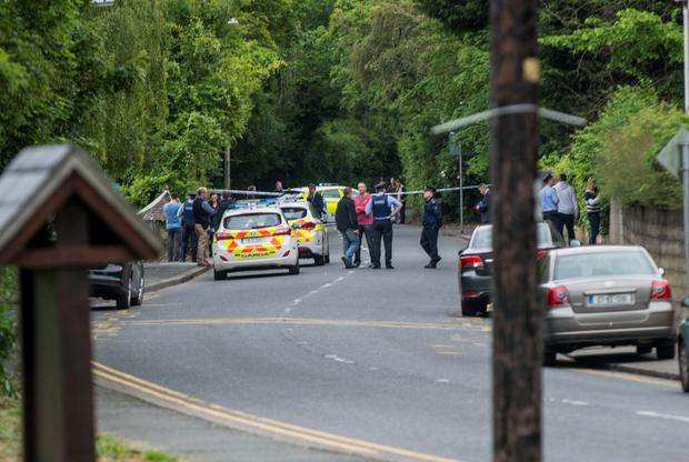 The scene of the shooting at the racing pigeon club