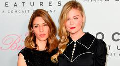 Sofia Coppola and Kirsten Dunst attend