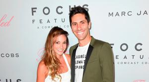 Laura Perlongo and Nev Schulman attend