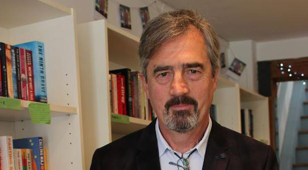 Sebastian Barry at Gutter Bookshop Dalkey