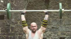 Ireland's Strongest Man Patrick O'Dwyer