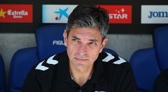 Mauricio Pellegrino during the match between RCD Espanyol and Deportivo Alaves, on April 08, 2017. (Photo by Urbanandsport/NurPhoto via Getty Images)