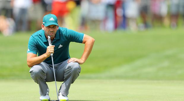 Masters champion Garcia tied for lead in Munich