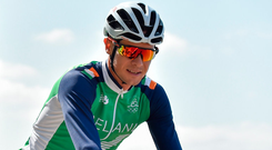 "Roche: ""The nationals are a really important event for me but the level of cycling in Ireland has gone up so much in the past few years that any one of 20 riders could win it, so it's not going to be easy."" Photo by Stephen McCarthy/Sportsfile"