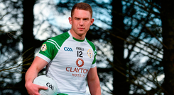 """Gavaghan made his debut for London against his mother's home county, Mayo, in 2011, and has gone on to become, in the opinion of London GAA assistant secretary John Doyle, """"the top Englishborn player that's ever come through in London"""". Photo by Sam Barnes/Sportsfile"""