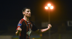 Dinny Corcoran of Bohemians. Photo by David Fitzgerald/Sportsfile