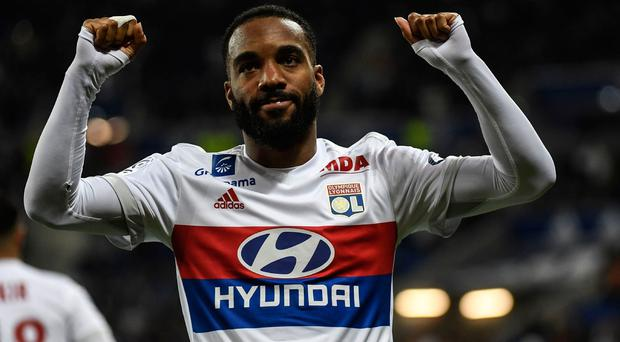 Lacazette, who has scored at the rate of one in every two games in domestic football in France, can play right across the front three. Photo credit: Getty Images