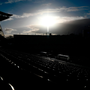 A general view of Eden Park prior to the First Test match between New Zealand All Blacks and the British & Irish Lions