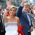 Queen Maxima and King Willem-Alexander of the Netherlands in Rome
