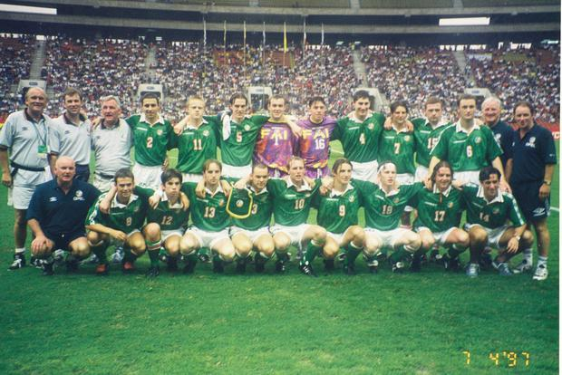 Ireland players at Under-20 World Cup in Malaysia