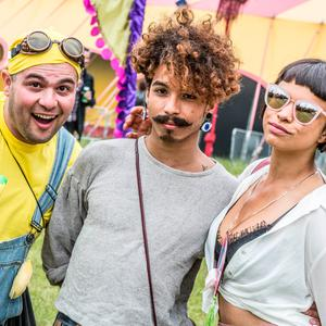 Body&Soul festival goers enjoying a weekend of delights and surprises at Body&Soul Festival, Ballinlough Castle, Co. Westmeath