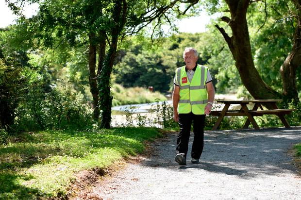 71-year-old Bill Redmond has found walking life-changing. Photo: Maura Hickey