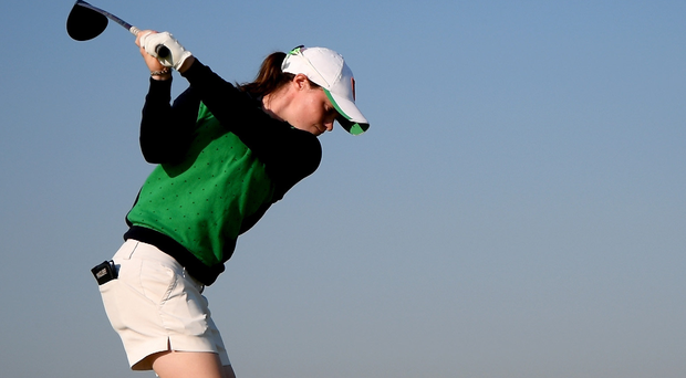 Leona Maguire in action at last year's Olympic Games. Photo: Getty