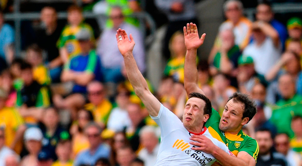 'Tyrone, as always, stationed Colm Cavanagh as the guard dog on the square'. Photo: Sportsfile