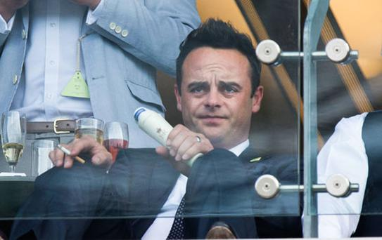 SOBERING THOUGHT: Ant McPartlin, who has checked into rehab after admitting to alcohol abuse, has fallen into the Victorian mindset that he is a moral failure