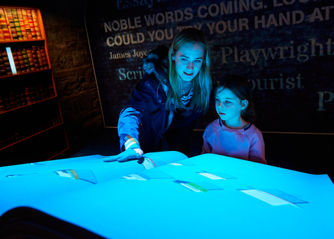 Epic boasts that it can do 900 years of history in 90 minutes with an innovative use of touch screens, including the biggest iPad in Ireland