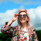 Veronica Gubarkova, from Celbridge, Kildare, at Body & Soul Festival. Ballinlough, Co. Westmeath. Picture: Caroline Quinn