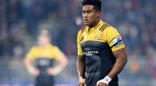 Julian Savea will be one of three current All Blacks to face the British and Irish Lions on Tuesday. Getty