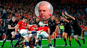Warren Gatland is not happy with the way Conor Murray was tackled