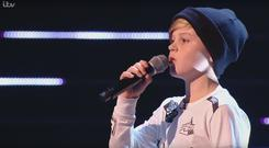 Devon Browne on The Voice Kids UK