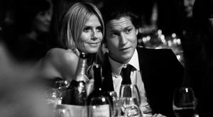 Heidi Klum and Vito Schnabel at amfAR's Milano 2014 duirng the Milan Fashion Week Womenswear Spring/Summer 2015 on September 20, 2014 in Milan, Italy. (Photo by Vittorio Zunino Celotto/Getty Images)
