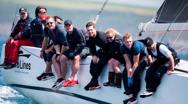 McConnell's 10-strong team included former Olympian Tom Fitzpatrick from Howth and left a star-studded field of challengers in their wake. Photograph: David Branigan/Oceansport