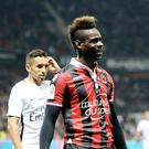 Mario Balotelli of OGC Nice celebrates the victory after the French Ligue 1 match between OGC Nice and Paris Saint-Germain at Allianz Arena on April 30, 2017 in Nice, France. (Photo by Xavier Laine/Getty Images)
