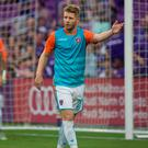 Richie Ryan in action for Miami FC. Photo: Miami FC