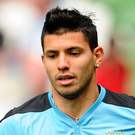 Aguero's future has been subject to speculation for months. Picture credit: Brendan Moran / SPORTSFILE