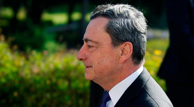 Japanese stocks approach two-year high, euro sags after Draghi's comments