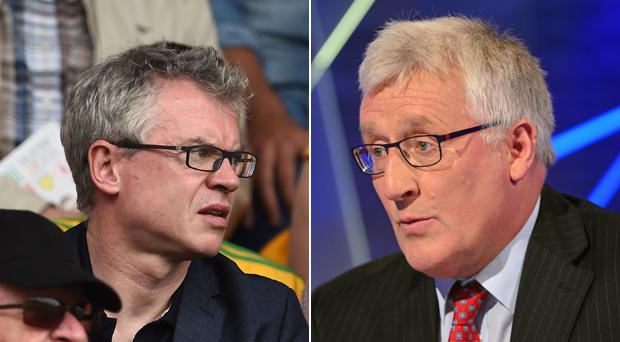 Joe Brolly and Pat Spillane