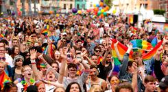 Dublin Pride 2017 Smithfield. Picture: Gerry Mooney